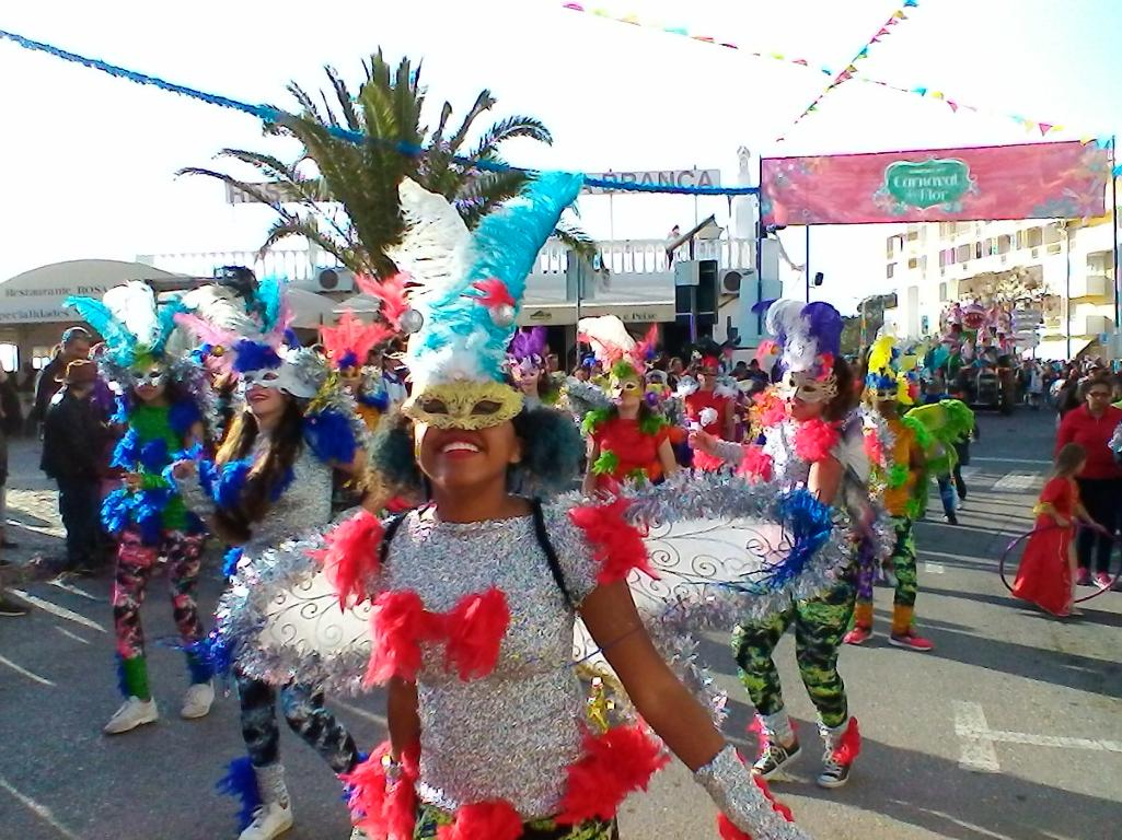 Carnival time in quarteira